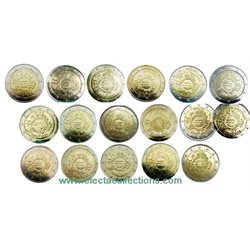 All Countries – 17 X 2 euro 10 Years EURO, 2012