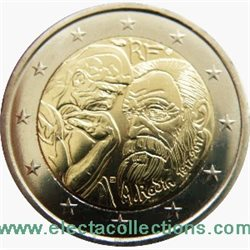 France - 2 Euro commemorative, Auguste Rodin, 2017