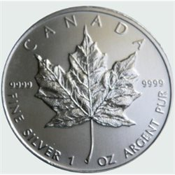 Canada - 10 X Silver coin BU 1 oz, Maple Leaf, 2011