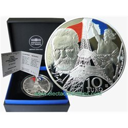 France - 10 Euro Ag proof, Iron and Glass, 2017