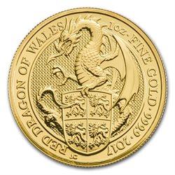Regno Unito - Dragon Gold Coin 1 oz, 2017