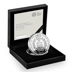 Regno Unito -  House of Windsor Silver proof coin, 2017