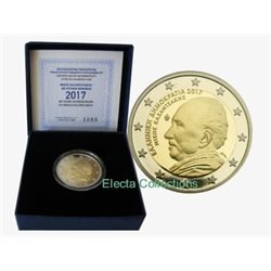 Greece – 2 Euro, NIKOS KAZANTZAKIS, 2017 (proof)
