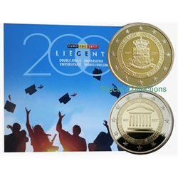 Belgium - Official BU Set, the two Universities, 2017
