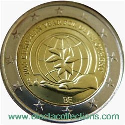 Belgium – 2 Euro Year of development 2015 (BU in capsule)