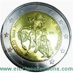 Vatican - 2 Euro, Year of Mercy, 2016 (BU in capsule)