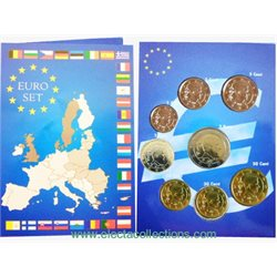 Belgium - Euro coins, Complete Set 2017 (BU in folder)