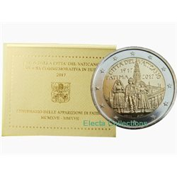 Vatican - 2 Euro, Marian Apparitions of Fatima, 2017 (blister)