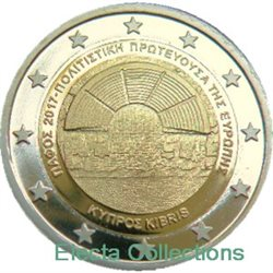 Cyprus – 2 Euro Paphos, Capital of Culture, 2017