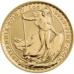 Royaume Uni - Britannia Gold Coin 1 oz, 2018