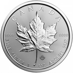 Canada - Silver coin BU 1 oz, Maple Leaf, 2018