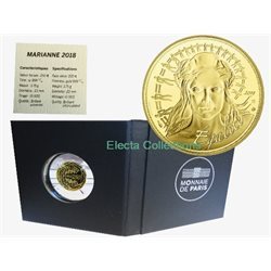 Francia - 250 Euro d'oro, Marianne - Equality, 2018