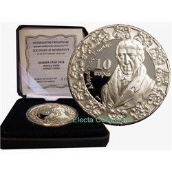 Griechenland 10 Euro Silber Baroque And Rococo 2018