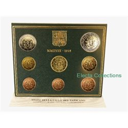 Vatican - Official Euro coin set BU 2018