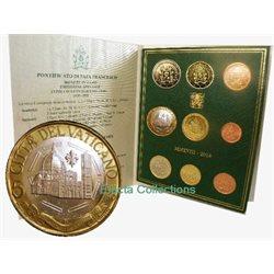 Vatikan Original Kursmunzensatz 5 Euro Santa Maria 2018
