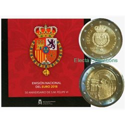 Spain – Official euro coins set BU, 2018