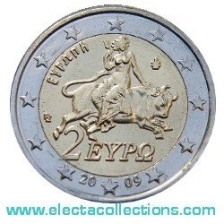 Greece - 2 Euro, Europa 2009 (BU in capsule)