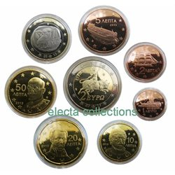 Grece - Serie complete PROOF 2013 (in original capsules)