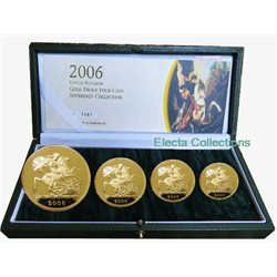 Great Britain - Gold Proof Sovereign Four Coin Set, 2006