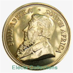 South Africa - Gold coin BU 1/4 oz, Krugerrand, 1982