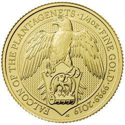Regno Unito - Gold Coin 1/4 oz, Falcon, 2019