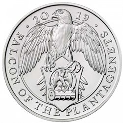 Regno Unito - 5 pounds, Falcon, 2019 (BU in capsule)