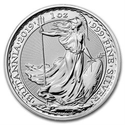 Μεγάλη Βρεταννία - £2 Britannia One Ounce Silver Bullion, 2019