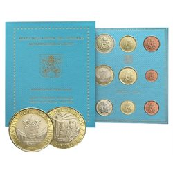 Vaticano - Serie Oficial + 5 euro World Youth Day, 2019