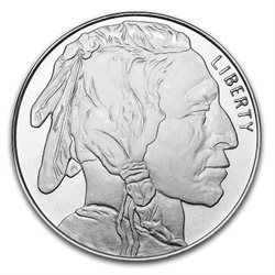 United States - Silver medal BU 1 oz, Native American, 2019