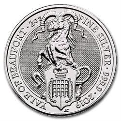 Regno Unito - Yale of Beaufort, silver 2 oz, 2019