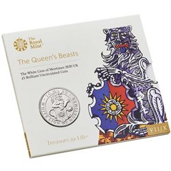 Great Britain - 5 pounds, Lion of Mortimer, 2020 (blister)