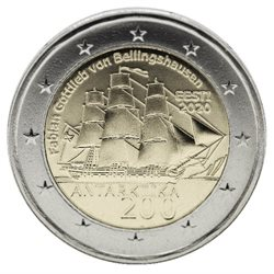 Estland - 2 Euro, Antarctic Expedition, 2020 (unc)