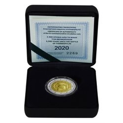 Griechenland – 2 Euro, BATTLE OF THERMOPYLAE, 2020 (proof)
