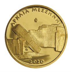 Grecia - 50 Euro oro, ANCIENT MESSENE, 2020