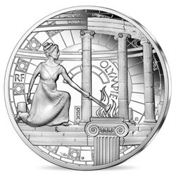 Francia - 10 Euro argento proof, ANCIENT OLYMPIA, 2020