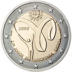 Portugal – 2 Euro, Lusophony Games, 2009