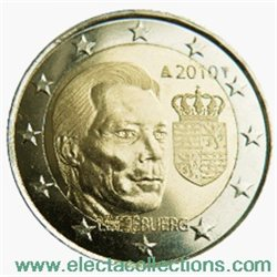 Luxemburg - 2 Euro, Coat of Arms of Luxemburg, 2010