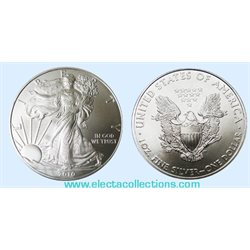United States - Silver coin BU 1 oz, American Eagle, 2010
