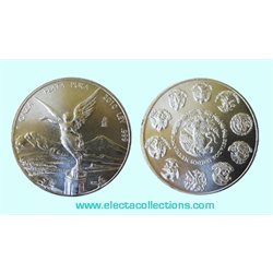 Mexique - Silver coin BU 1 oz, Libertad, 2010