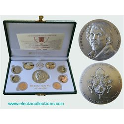 Vatican - Official Euro coin set Proof 2010
