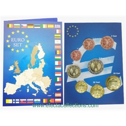 Germany - Euro coins, Complete UNC Set 2002
