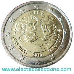 Belgien 2 Euro 100 Jahre Internationaler Frauentag 2011
