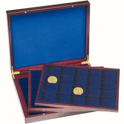 Presentation case - Three inlays, for 60 coins up to 48mm