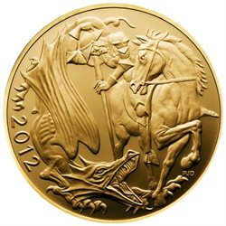 Great Britain - Elizabeth II, Gold Sovereign BU, 2012