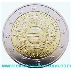 Austria – 2 Euro, 10 Years of EURO cash, 2012