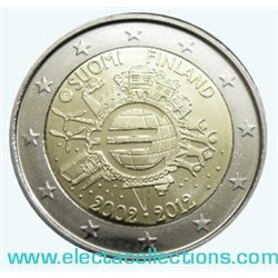 Finland – 2 Euro, 10 Years of EURO cash, 2012