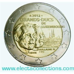 Luxemburg - 2 Euro, Grand-Duc Guillaume IV, 2012