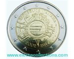 Italy – 2 Euro, 10 Years of EURO cash, 2012
