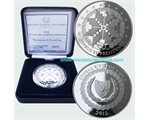 Cyprus - 5 Euro Silver PROOF, EU Presidency, 2012