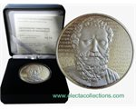Greece - 10 Euro Silver Proof,  Greek culture, Aeschylus, 2012